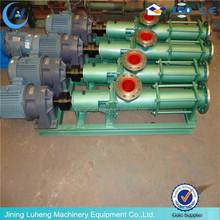 G type positive displacement pump single progressive cavity pump