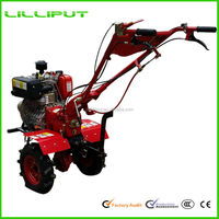 New Design Cheap Inexpensive Hand Operated Tillers Tractors For Sale