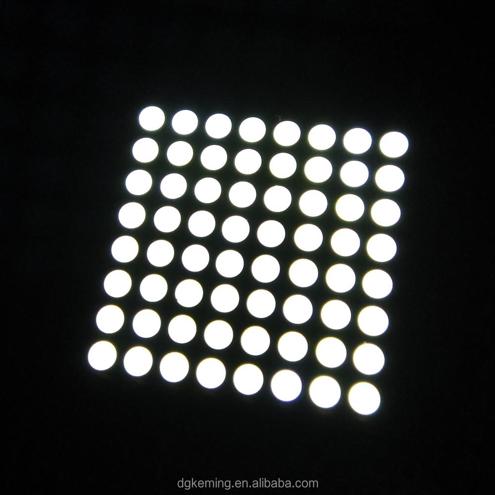 White dot led matrix 8x8 module RoHS 5x7 5x8 3x6 array for lift sign