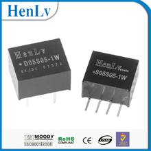 Fixed voltage isolation unregulated 1w DC-DC power converter