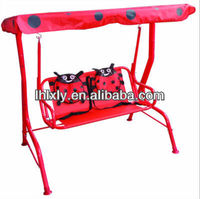 childrens kids marrakech swing chair in ladybird beetle design