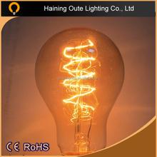 China Alibaba Sale nostalgic Edison bulb 25W 40W 60W vintage lighting bulb E27 110-240V antique style carbon filament light bulb