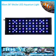 36inch 64*3w wholesale price for led aquarium light with remote controllerled system 2012 nova a8 led aquarium light