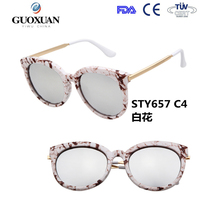 2015 New Spring Fashion Sunglasses Women Eyewear Brand Designer glasses Multi color points Sun glasses woman Round shades