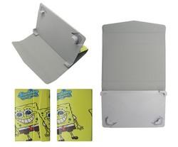 Wholesale Cartoon Universal Tablet PC case,Spongebob tablet cover