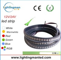 2015 New Product Built In IC 5V WS2812b 144 LED Pixel Strip with CE ROHS 2 year warranty black light led strip