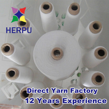 Auto cone virgin polyester spun yarn from China wholesale