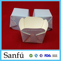 Fried chicken paper box & bag packaging