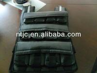 adjustable running weight vest/weighted vest