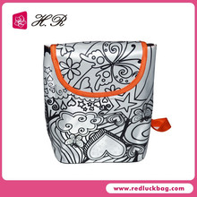 2015 Color your own Kids cartoon picture of school bag set