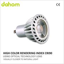 High Color Index Spotlight GU10 Led Bulbs Dimmable Led mr16 5w Cob