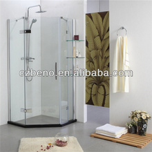 BN-241 Enclosed shower units with glass shelf 900*900*1850mm