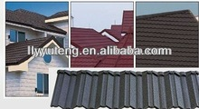 Construction material decoration metal roof stone coated metal roofing