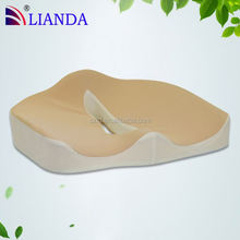 Customized with your brand orthopedic seat cushions for chairs, cushion for tailbone pain, coccyx chair cushion