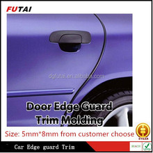 Decorative protector car door edge guard