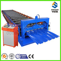 Automatic Roll Form Corrugated Metal Roofing Sheet Machine