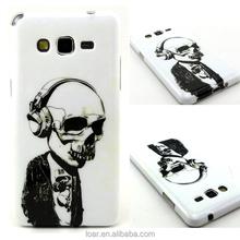 Skull Man Flexible TPU Case For Samsung Galaxy Grand Prime G530 Mobile Cover