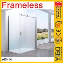 fabricante de 8mm puerta corredera portátil wc y ducha habitación
