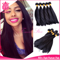Hot sale straight 100% virgin real malaysian hair extension,pure malaysian hair product