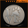 Custom made high quality round shaped old coins
