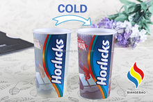 Brand New Products 2015 Promotional Gift Items Cold Color Changing Magic Mug Cup,Single Wall Plastic PP Cup