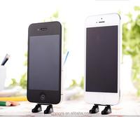 New Design Adidas Dust Plug Shose shape Data mouth dustproof plug bracket Phone Accessories for IPhone 6 Samsung sony LG HTC