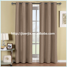 supply large quantity ready made polyester 100% blackout window curtain