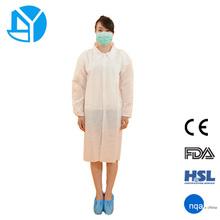estándar de alta calidad desechables no tejidos uniforme médico