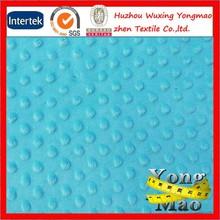 No MOQ 100% polyester cuddle minky fabric wholesale