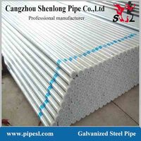 300mm 1.5inch 8inch thin wall asme b36.10m bs1387 astm a53 schedule 40 smsl pre-galvanized hot dip galvanized steel pipe price