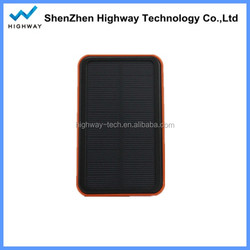 Dual Output 10000mah Portable Solar Power Bank Solar USB Charger for Galaxy Note Mobile Phone