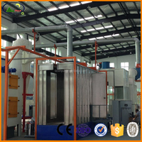 2015 hot sale high quality automatic powder coating booth