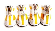Wholesale Pet Products Shoes Zipper Mesh Dog Boots