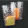 custom printed small self seal cellophane bag for bread