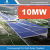 Grid tied solar system, 10MW solar power plant