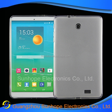 accessories clear smooth tablet back cover for ALCATEL One Touch POP 2(8.0) POP 8S LTE