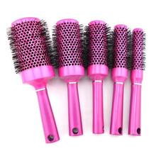 black nylon hair brush logo salon top sale