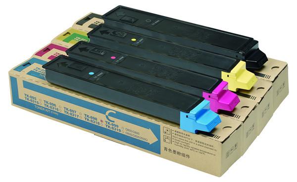 Remanufaturados Cartucho de Impressora a Cores de Toner TK895 FS-8520MFP