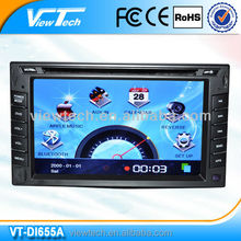 "6.2"" touch screen double din car stereo car dvd player"
