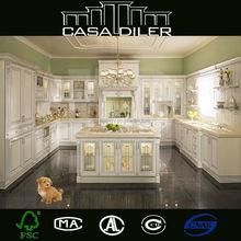 PVC/MDF Kitchen Cabinets Hot Sale Modular Kitchen Cabinets