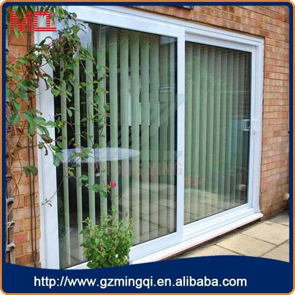 2015 China Modern White Double Sliding Glass Doors View