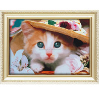 Factory direct sale lovely animal oil painting by number set