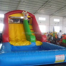 Top grade hot sale giant theme inflatable water slide