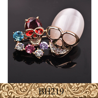 Fancylove Jewelry newest arrival skull brooch star design high quality suit decoration