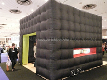 Outdoor inflatable cube tent for events,Cube inflatable exhibition booth,inflatable bubble tent cube K5004