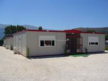 movable family prefab house-prefabricated house/a-frame house kit