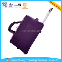 new design durable travel sports bag with trolley