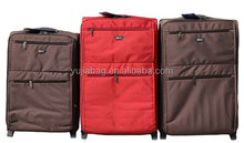 Stock cheap promotional travel trolley luggage in alibaba china
