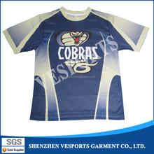 Wholesale subimated print softball shirt