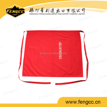 Customized high quality promotional printing apron